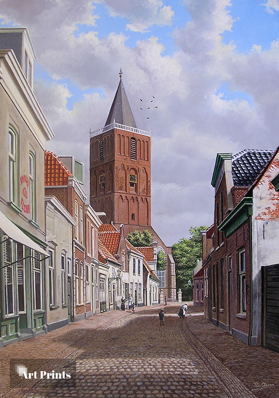 De Kerkstraat anno 1900