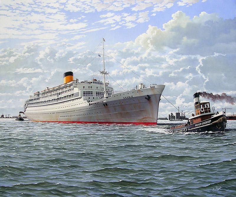 Passagiersschip 'de Oranje'