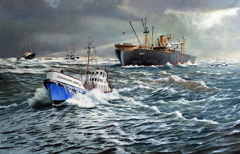 Reddingboot de 'Gebroeders Luden'