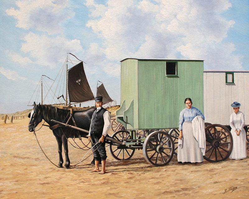 Badman Pieter Bedijn rond 1900