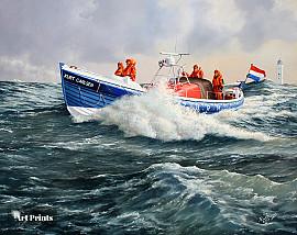 Kurt Carlsen voor Noordwijkse kust
