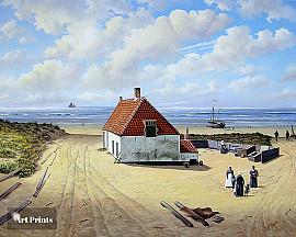 Noordwijks vissershuisje