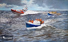 Noordwijkse reddingboten