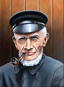 Oude zeeman rond 1930
