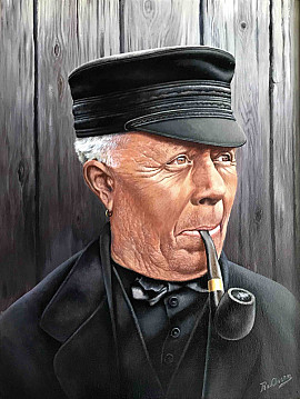 Boer uit Westerwolde rond 1930