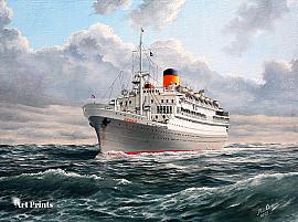 Passagiersschip de 'Oranje'...