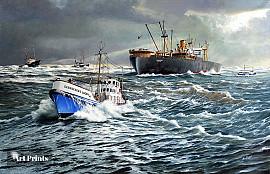 Reddingboot de 'gebroeders Luden'...