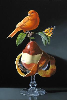 Le canaris à la poire