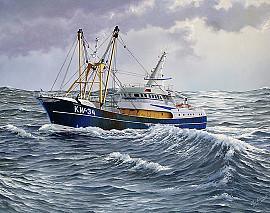 Vissersboot de Katwijk 34