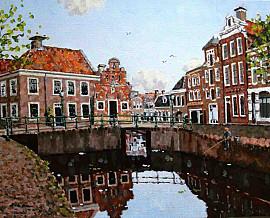 Gracht in Franeker