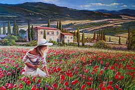 Tuscany Girl