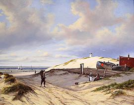 Strandgezicht Katwijk