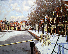 Winter in Spaarndam