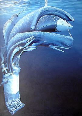 Walvisachtigen uit de verf