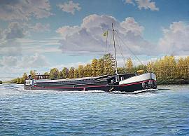 Vrachtschip 'Ivette'