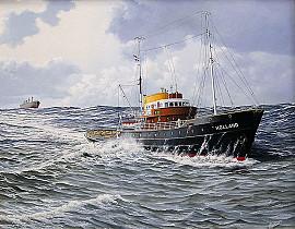 Zeesleepboot de 'Holland'