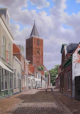 De Kerkstraat rond 1900