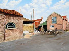 Boerderij van der Holst in 1970