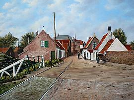 Westeinderbrug (Voorstraat) rond 1900