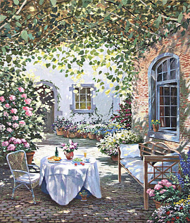 Ydillic garden