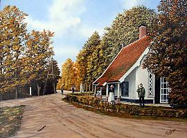 Jagershuisje op Leeuwenhorst