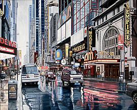 NY Empire Theatre 42nd street