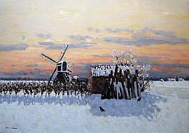 Molen in Noordwijk