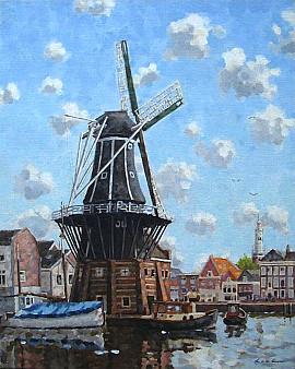 Molen in Haarlem