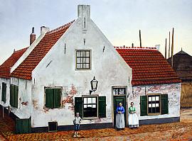 Boerderij 'Marbus' rond 1900