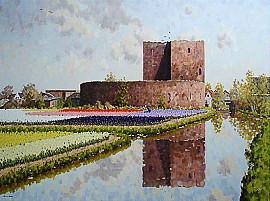 Ruine van Teijlingen Voorhout