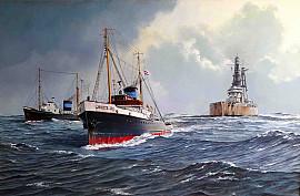 De 'Zwarte Zee' in 1957