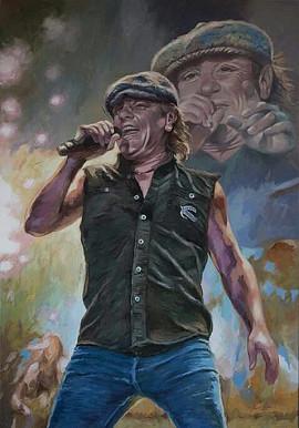 Brian Johnson, AC/DC
