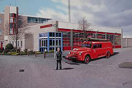 Dogde uit 1947 van Brandweer Noordwijk