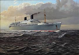 Passagiersschip 'de Willem Ruys'