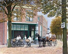 Lindenplein rond 1900