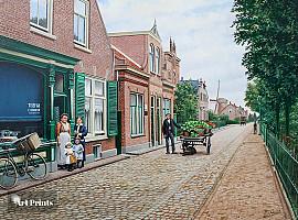Wilhelminastraat rond 1912